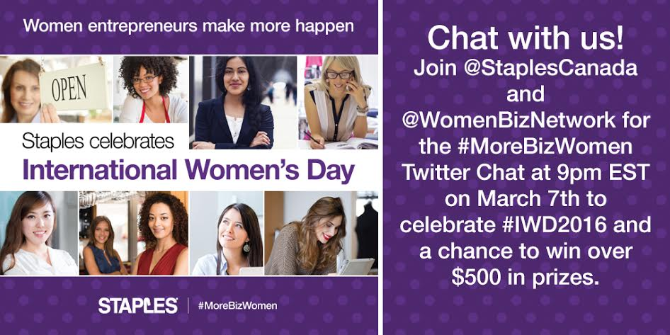 Staples Canada International Women's Day 2016