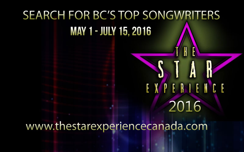 The Star Experience Canada #BC Songwriting Competition Season 2 w @TSEeveRIAthing
