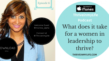 #Podcast Ep 6- Science of Leadership | How we #Lead and Thrive w @Monika_alpha