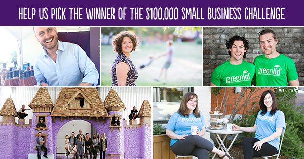 Pick a Winner for the 2016 Small Business Challenge #smallbizchallenge