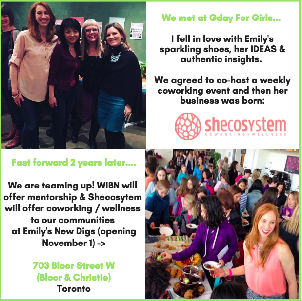 @WomenBizNetwork has a new home with @Shecosytem starting November 1