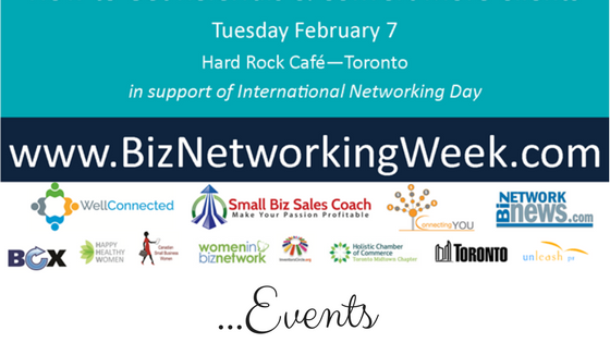 BUSINESS CONNECTS NETWORKING EVENT – TORONTO | February 7 with @JenniferBeale