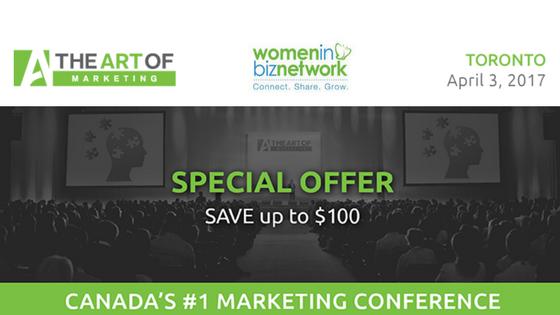 The Art of Marketing April 3, 2017 in Toronto via @theartof