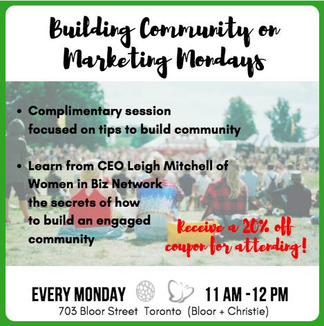 New! Marketing Mondays