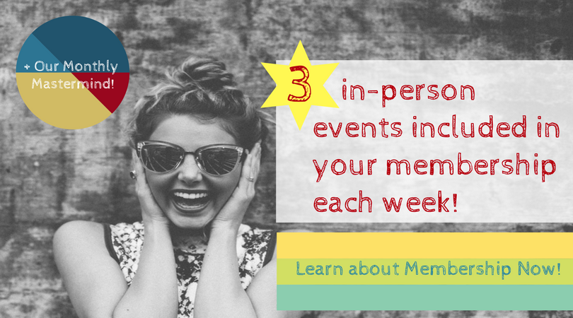 WIBN membership includes 3 weekly events!