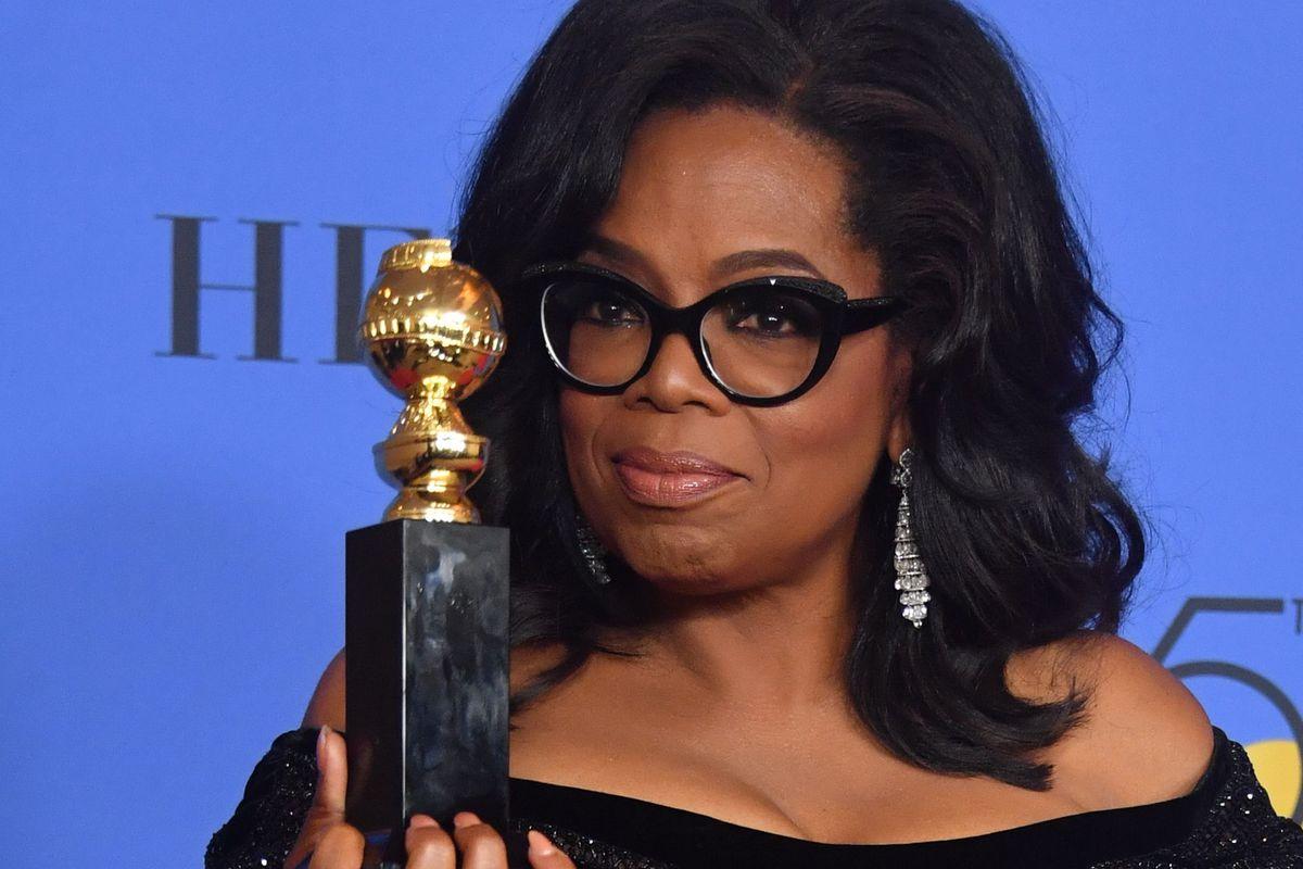 Oprah's Golden Globes Speech Transcript