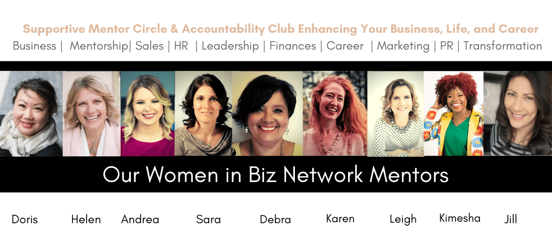 Women in Biz Network Mentors