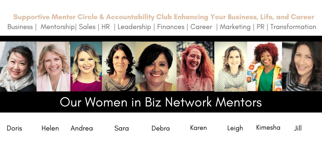 Women in Biz Network Mentors