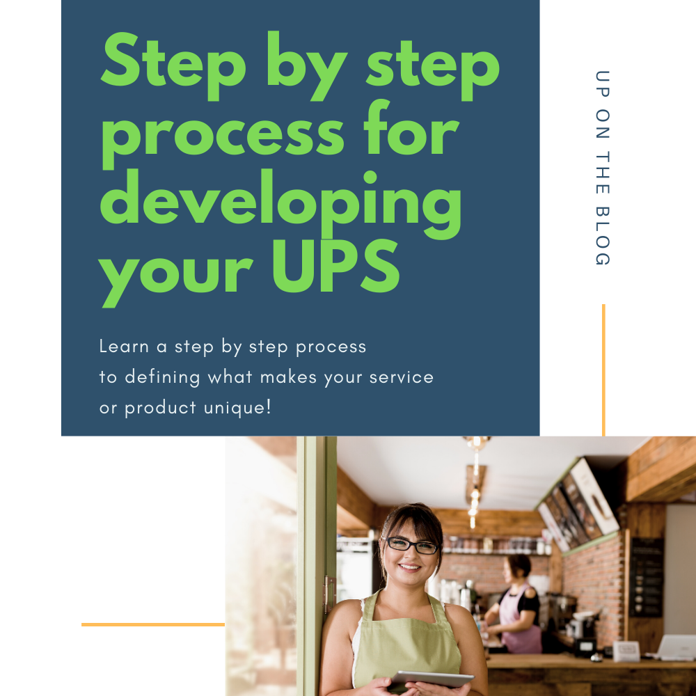 Step by step process for developing UPS