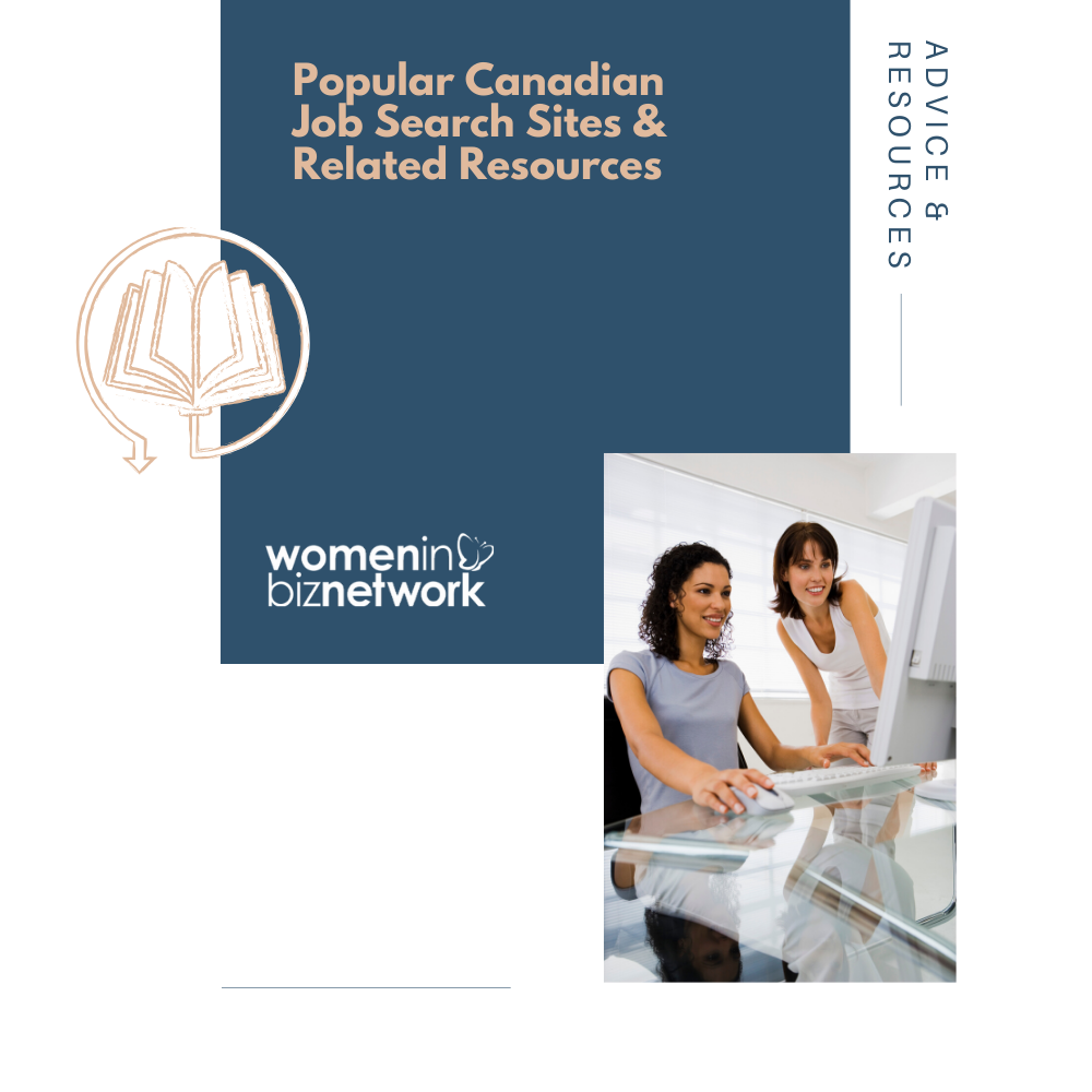 Popular Canadian Job Search Sites & Related Resources