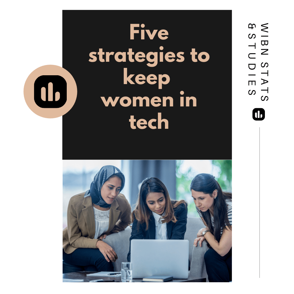 5 strategies to keep women in tech