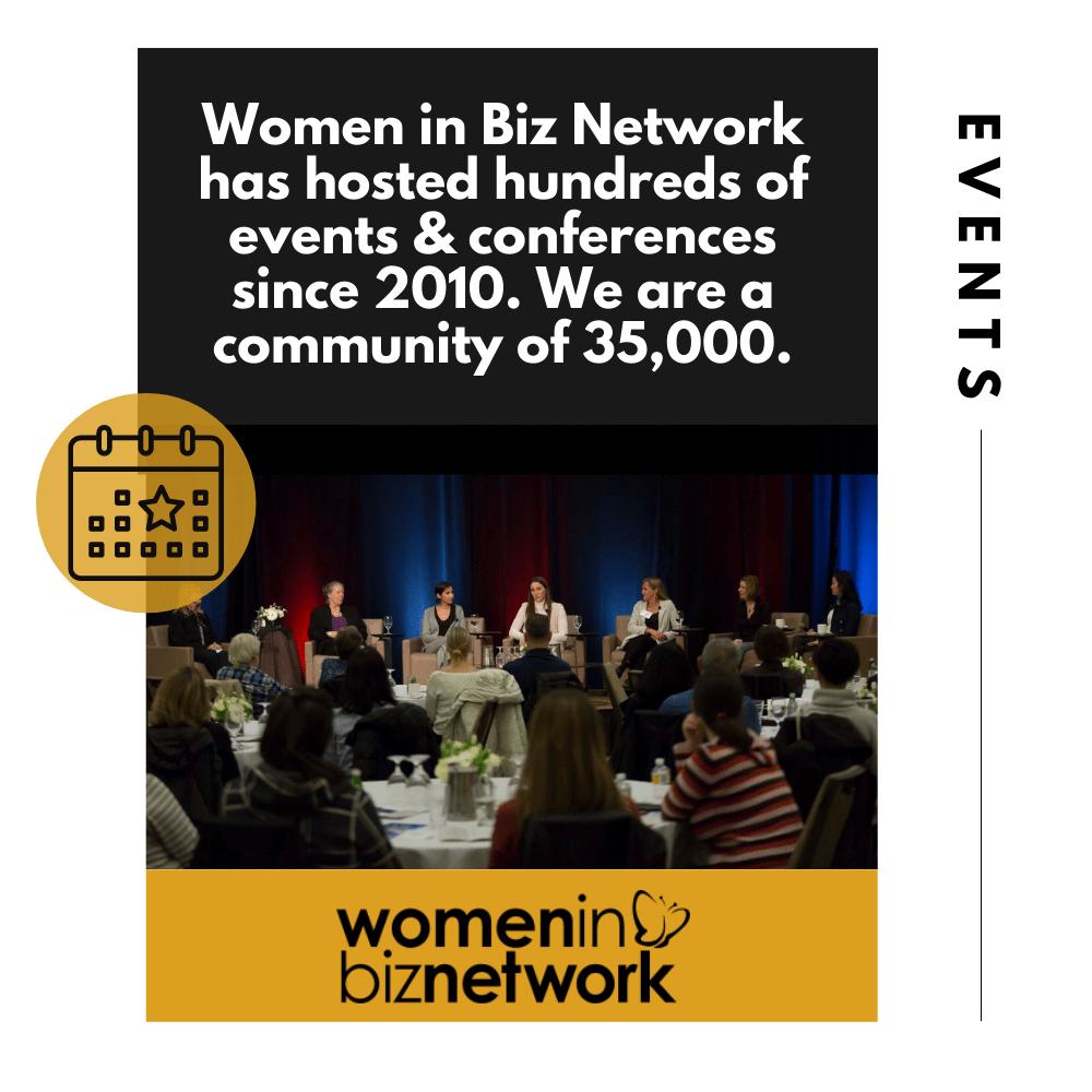 Upcoming Women in Biz Network Events