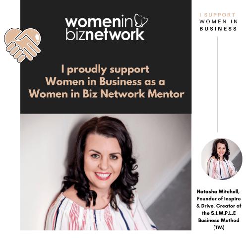 Natasha Mitchell, Women in Biz Network Mentor