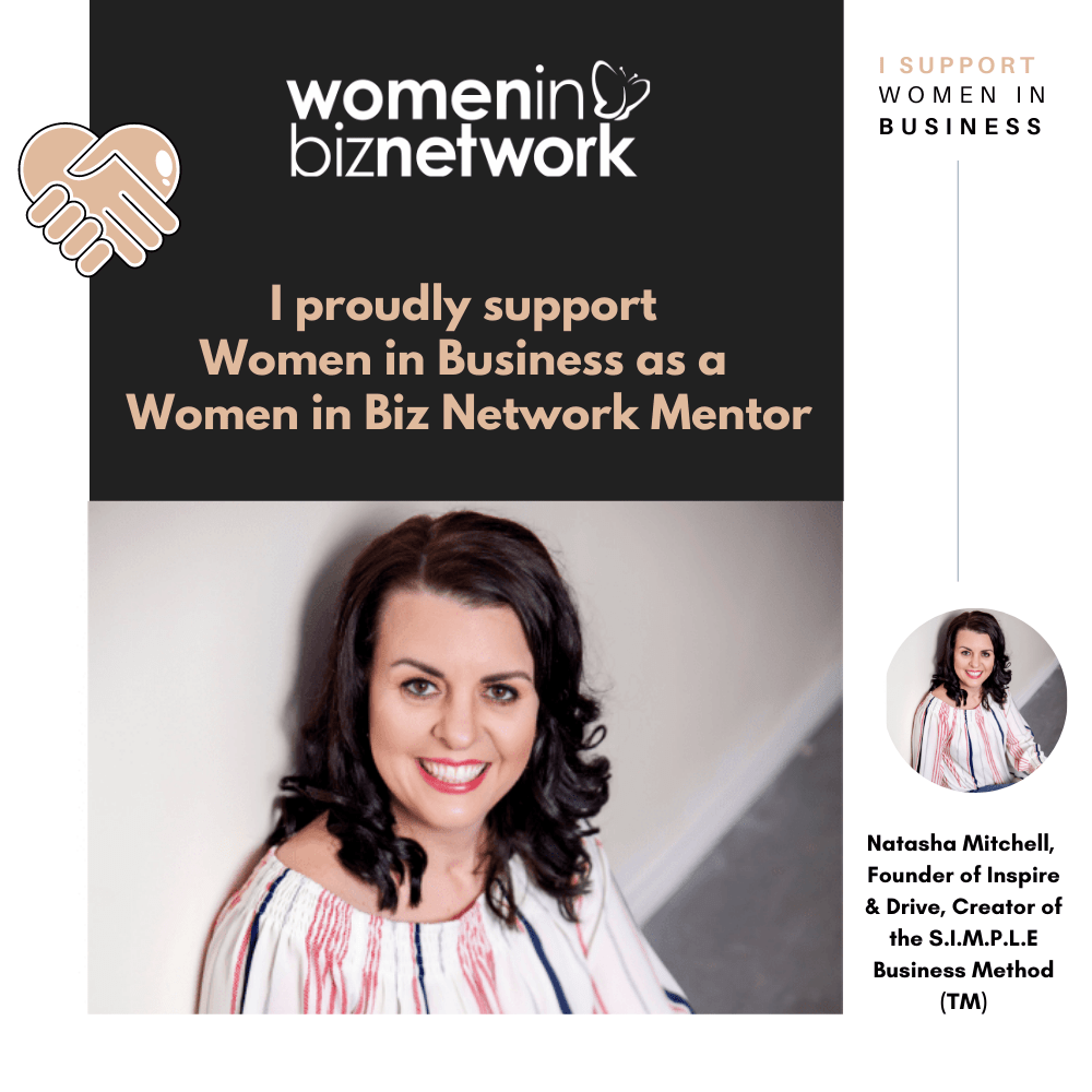 Natasha Mitchell, Women in Biz Network Mentor