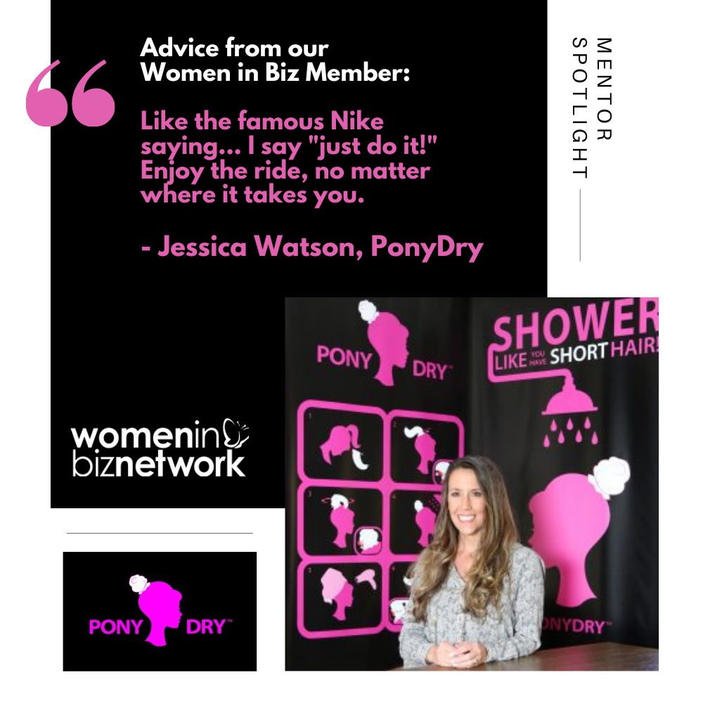 Women in Biz Members We Love: Jessica Watson of Ponydry –  Featured on the Today Show and in Grammy Gift Bags!