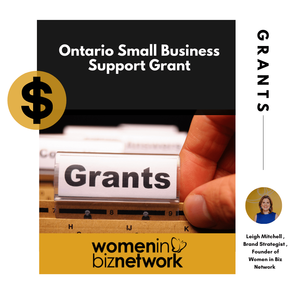 Ontario Small Business Grant