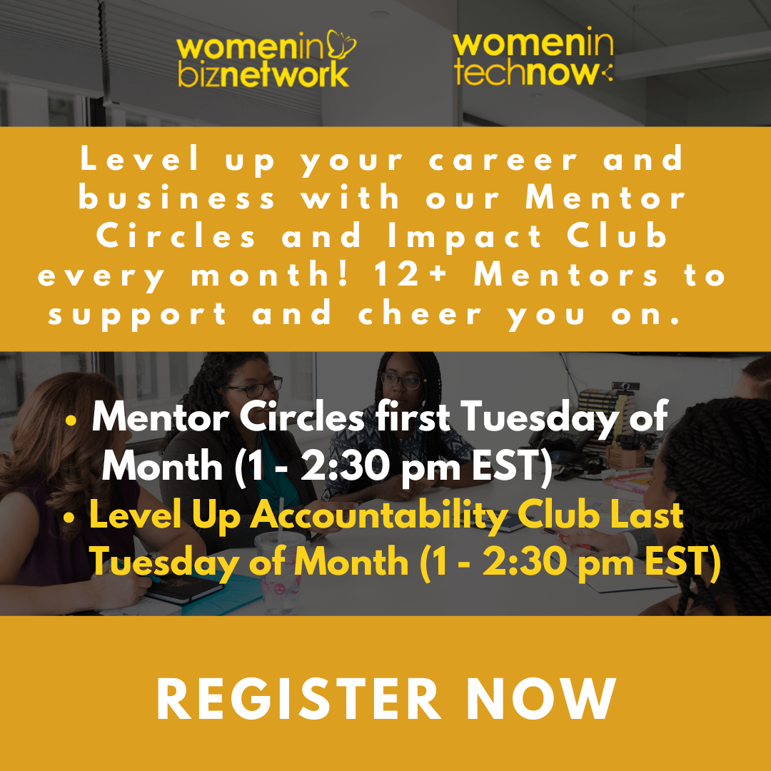 New! Level Up Your Impact Accountability Club (For Women in Biz Network Members only)