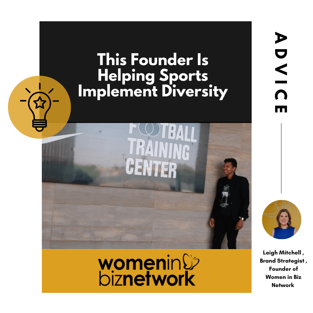 This Founder Is Helping Sports Implement Diversity